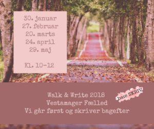 Walk and write bare skriv