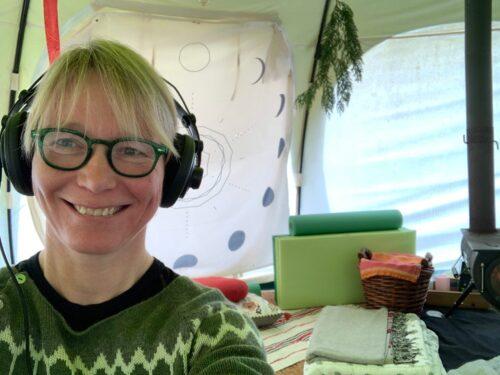 Line Reeh podcastudstyr