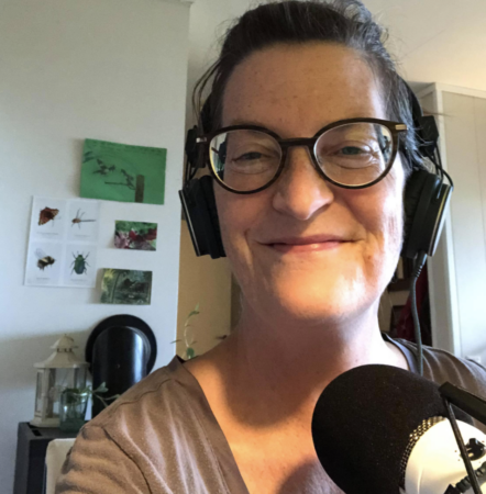 Podcaster Lotte Pia Stenfors